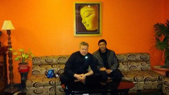 Kathmandu Prince Hotel : Hotel Lobby