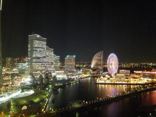 Yokohama Sakuragicho Washington Hotel: きれいな夜景