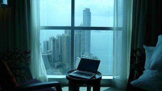 Hard Rock Hotel Panama Megapolis: Vue d'une chambre au 46ème