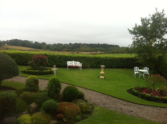 The Peat Inn: View from our room