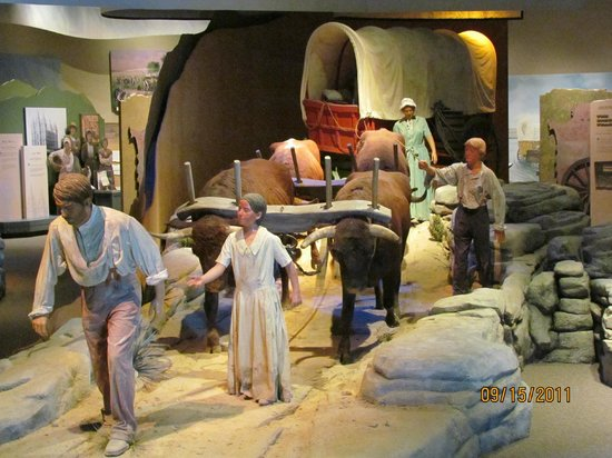 National Historic Trails Interpretive Center: The struggles of the journey