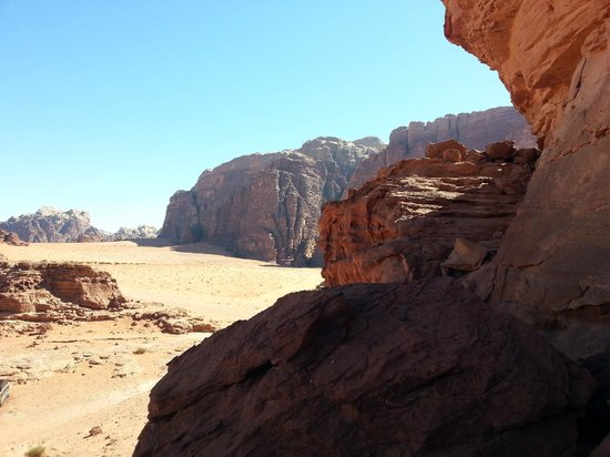Wadi Rum Sky - Tours and Camp: Desert View
