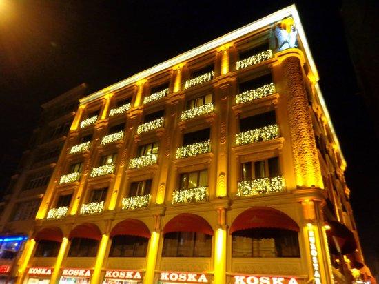 Eurostars Hotel Old City: Frente