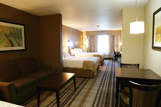 Emporia Holiday Inn Express Hotel & Suites Emporia Northwest: Queen Suite Guest Room