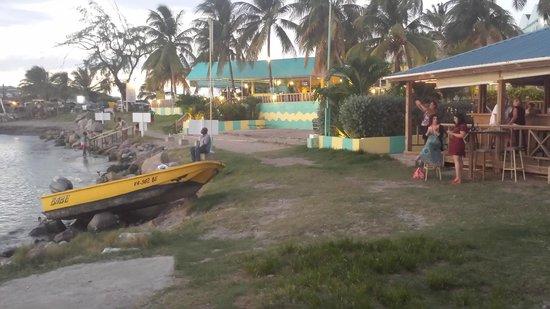 Timothy Beach Resort: View from beach bar