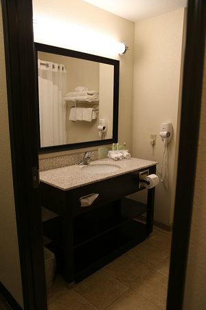 Emporia Holiday Inn Express Hotel & Suites Emporia Northwest: Bathroom