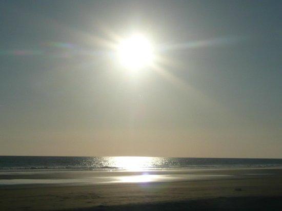 Finca Buena Vista: Sonnenuntergang am Strand