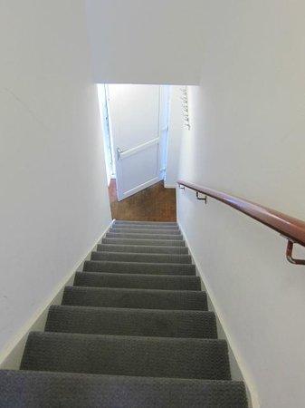 Hamilton Lodge : лестница, ведущая на улицу