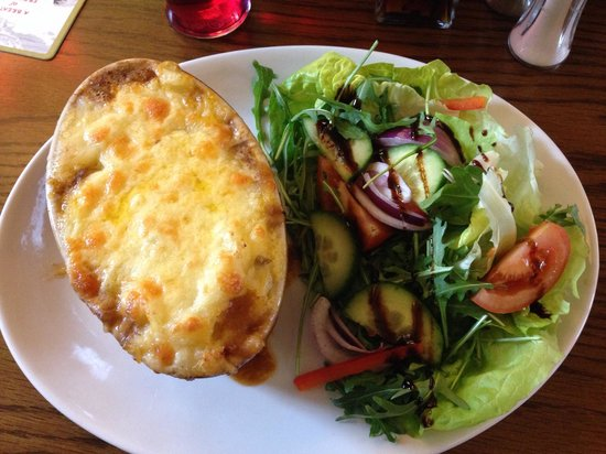 The Station Inn: Mmm cottage pie