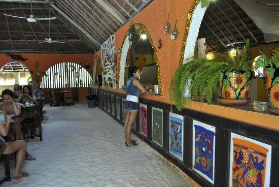 Cabanas Zazilkin: restaurant