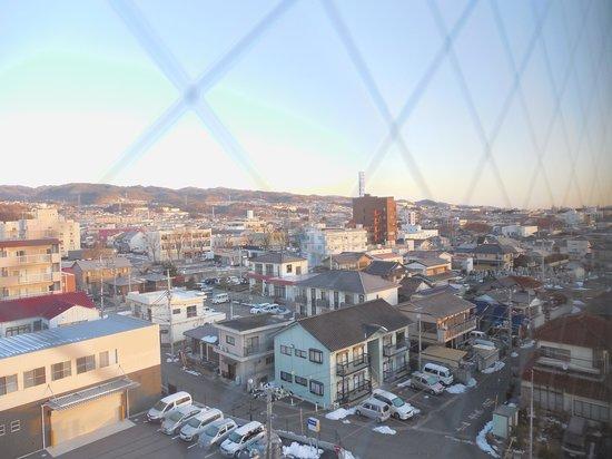 Hotel Route-Inn Hitachitaga : 客室からの眺め