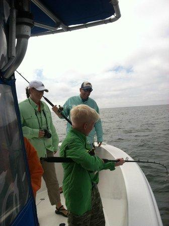 Ollie Raja Fishing Charters