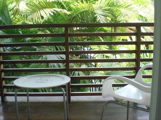 Le Cameleon Boutique Hotel: Balcón de la habitación