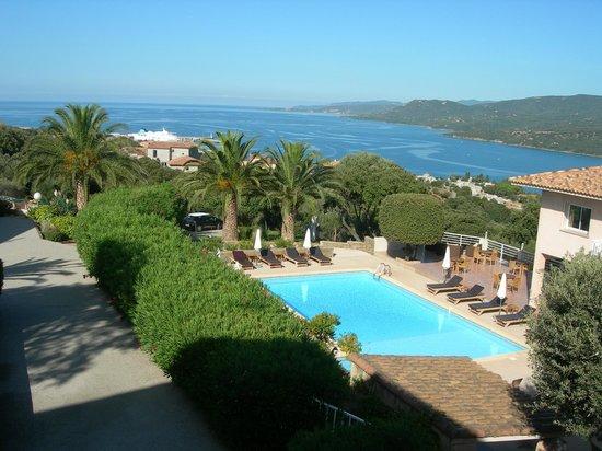 Residence Motel Aria Marina : Vue d'un autre appart.