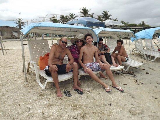 Laguna de la Restinga: Na praia