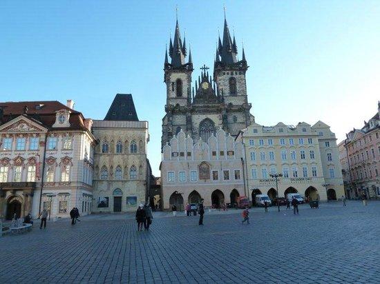 Hotel Hastal Prague Old Town: Prague Square