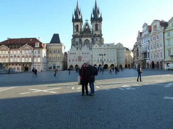 Hotel Hastal Prague Old Town : Prague square