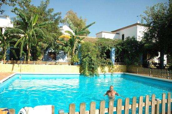 Alojamiento Rural Huerta La Cansina: Pedazo de piscina, ¿eh?