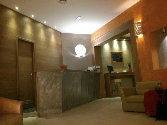 Biocity Hotel : la reception