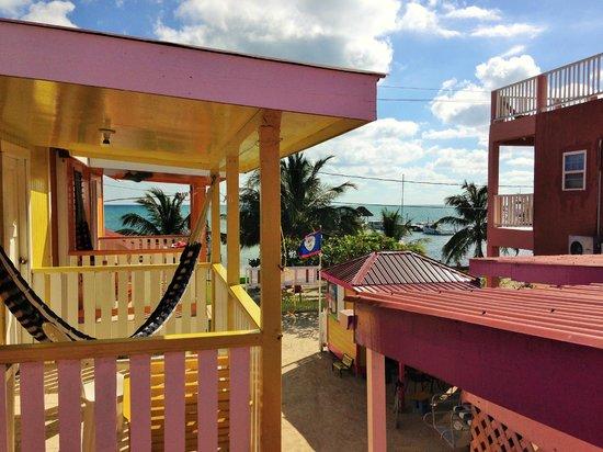 Mara's Place: Vue du balcon de la chambre