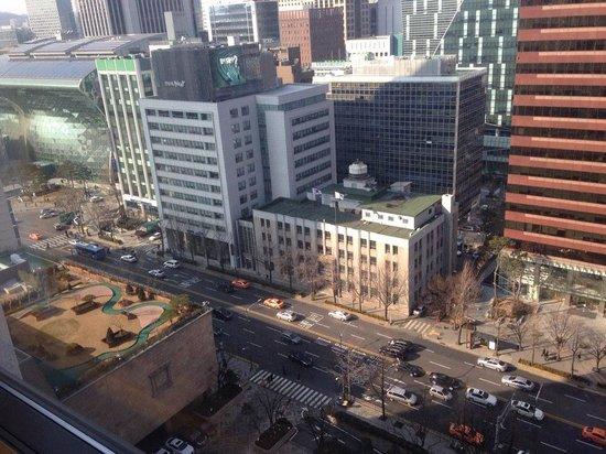 Lotte Hotel Seoul: 창 밖 풍경