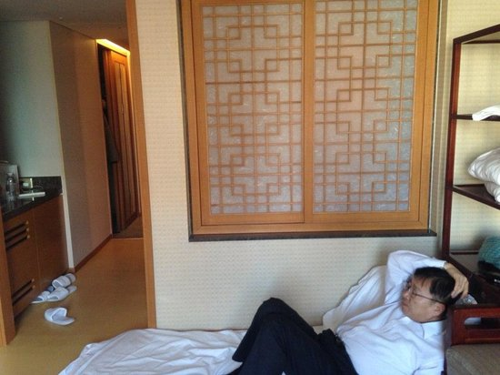 Lotte Hotel Seoul : 한국식 인테리어.