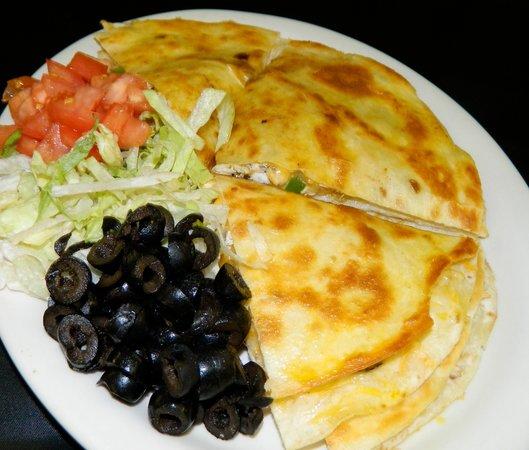 Hastings Keno Sports Bar and Grill : Chicken Quesadilla