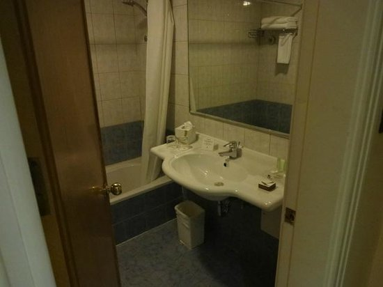 AlQasr Metropole Hotel : bathroom