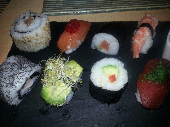 Restaurante Malasaña: sushi rico