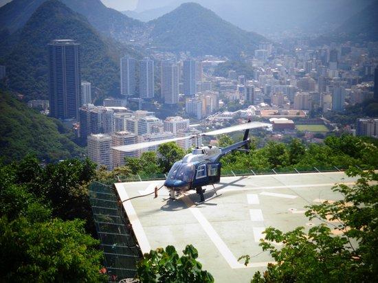 Pain de Sucre : helicopter option