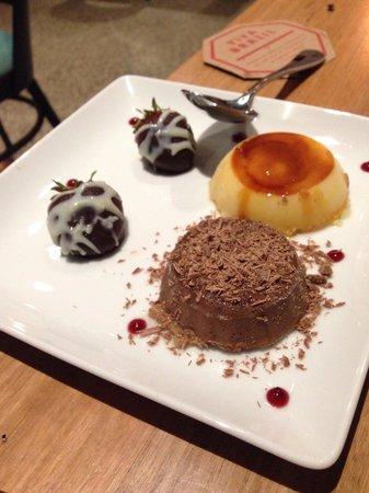 VIVA BRAZIL Prahran: Dessert included in the v day package