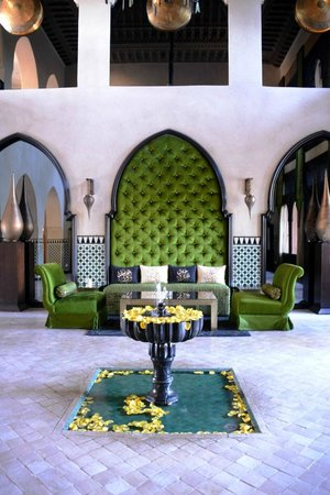 Palais Aziza & Spa: Atrium at reception