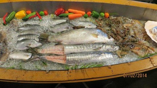 Golden Bay Cottages : Seafood barbeque
