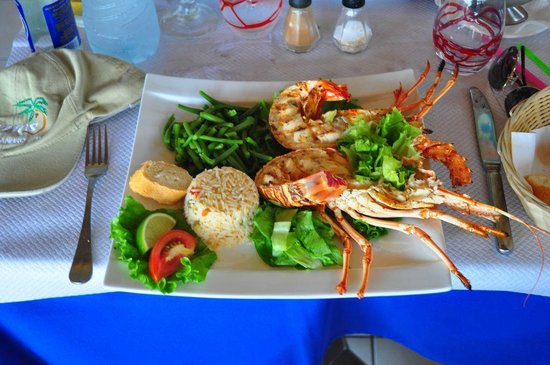 L'Azur Resto: Lobster for lunch at Azur