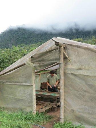 El Quetzal de Mindo Chocolate Tour: Cocoa bean fermenting room