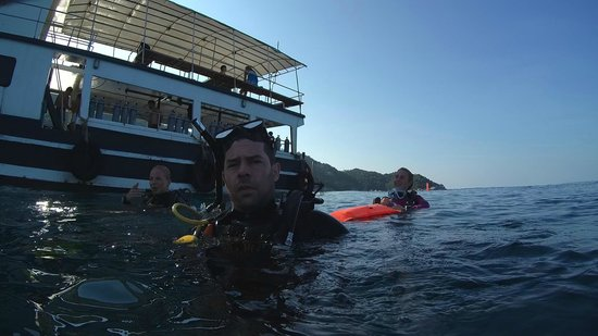 Big Blue Diving: Post dive picture