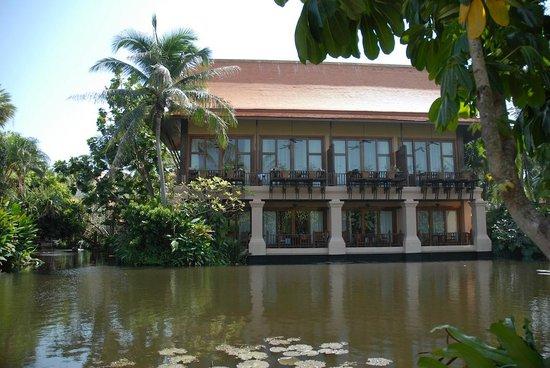 Anantara Hua Hin Resort: Alle kamers zijn prachtig gesitueerd.
