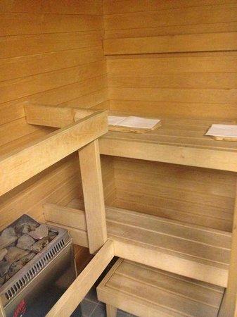 Radisson Blu Hotel Lietuva: Privat Sauna im Business Zimmer