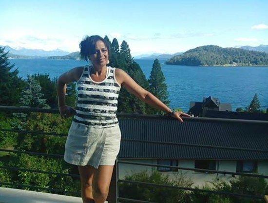 Altuen Hotel Suites&Spa: Hermosa vista al Lago Nahuel Huapi.