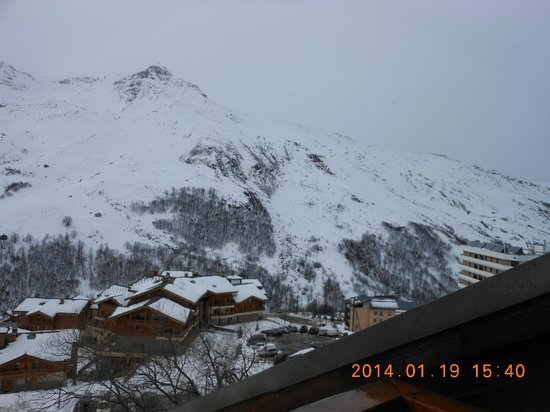 Hotel le Menuire: view from the room