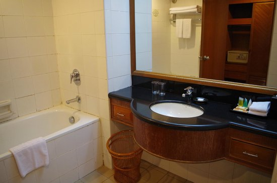 promenade hotel bathroom view bathtub needs upgrading - Bathroom Accessories Kota Kinabalu