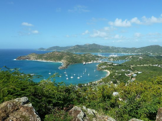 Scenic Tours Antigua: View from Shirley heights