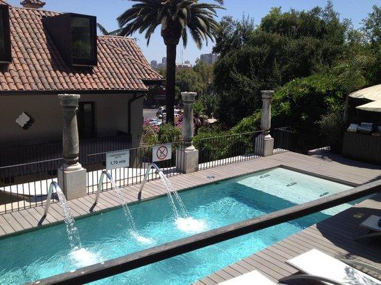 The Aubrey Boutique Hotel: Pool area at Aubrey Hotel