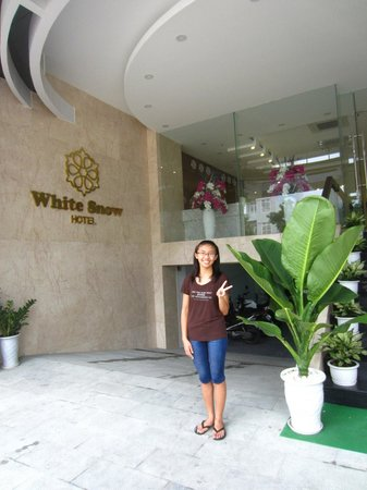 White Snow Hotel Danang : That's me!!