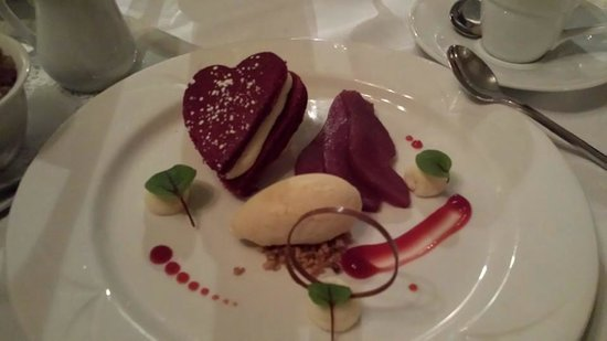 The Athlone Inn: Valentine's Day dessert