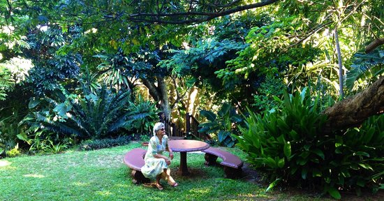 Ndiza Lodge and Cabanas: Peaceful garden