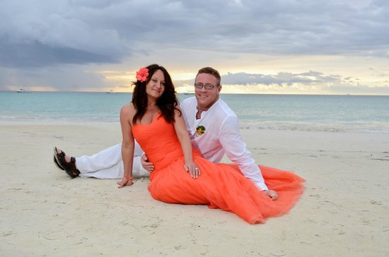 Beaches Negril Resort & Spa : Our weding day