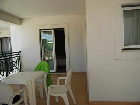 Stella Maris Hotel Apartments: Our Balcony/Terrace