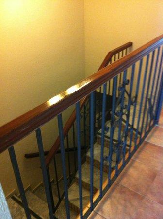 Los Amigos Beach Club: stairs