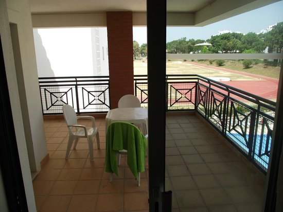 Stella Maris Hotel Apartments: Another view of balcony/terrace - loved it